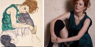 ¿Cómo recrear un cuadro en una fotografía? Julianne Moore: Portrait of a Lady