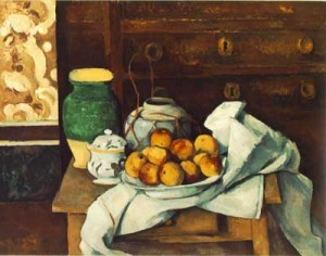 Still Life with Commode Paul Cezanne